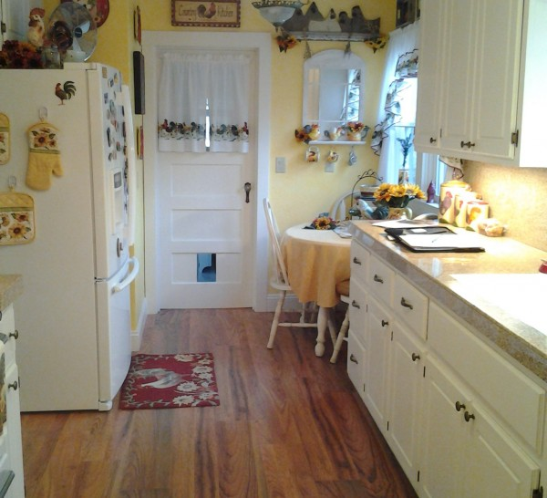 White Kitchen Remodels Before And After: Kitchen Case Study (White Country Cabinets