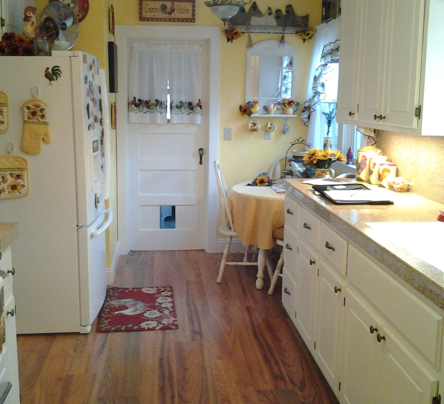 Kitchen Case Study (White Country Cabinets
