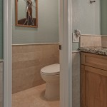 "6""x12"" Toreon subway set wainscot"
