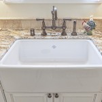 Rohl apron front sink and Rohl Perrin & Rowe Bridge faucet