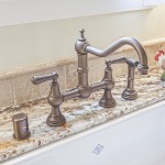 Rohl Perrin & Rowe Bridge faucet with spray handle