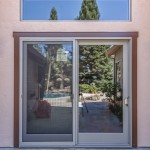 Anderson sliding glass door and transom