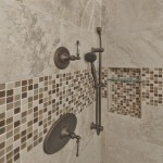 Hansgrohe Oil rubbed pressure balance with handheld shower head