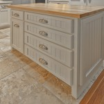 Beaded back panel drawers