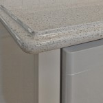 Caesarstone with ogee edge detail