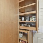 Wood pantry pullout system